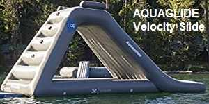 Aquaglide Velocity Inflatable Slide