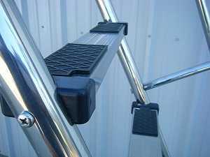Fibro Slide Stainless Steel Legs and Ladder