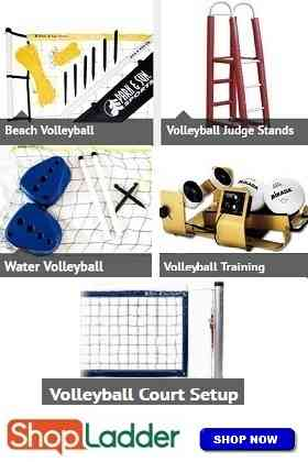 Commercial (Institutional) Volleyball Equipment