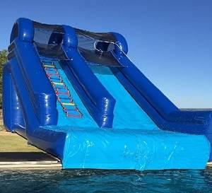 Big Guy Inflatable Swimming Pool Slide
