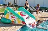World of Watersports Large Super Slick Pool Party Slide
