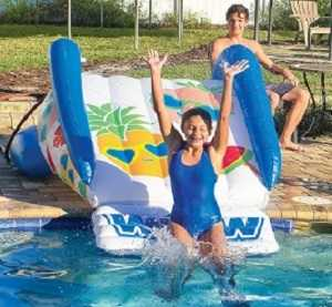 Blue Fruit Inflatable Pool Slide