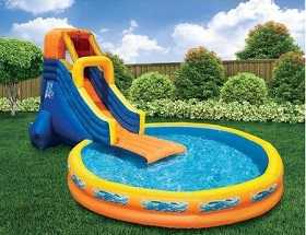 Wow-Inflatable Pool Slide