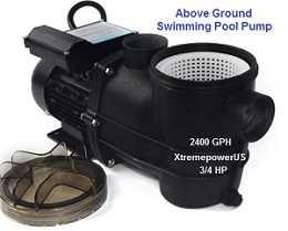 xstremepowerUS above ground pool pump