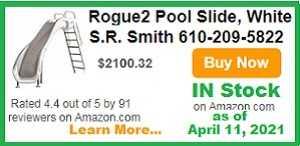 Rogue2 pool slide in stock