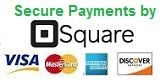 Square Secure Payments - Visa, Mastercard, AMX & Discover