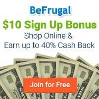 BeFrugal Cash Back