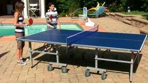 Outdoor Table Tennis (Ping Pong) Table