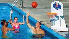 Swimming Pool Basketball Game