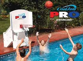 Swimming Pool Pro Basketball Game