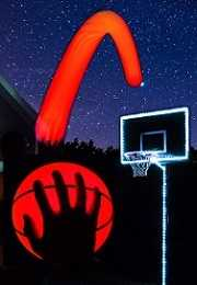 GlowCity Basketball Hoop Kit