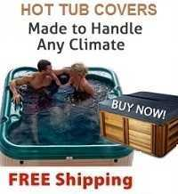 Find hot tub covers for any climate at TheCoverGuy.com