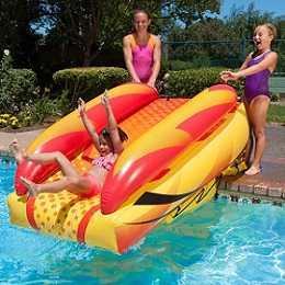 AquaPlunge Inflatable Swimming Pool Slide