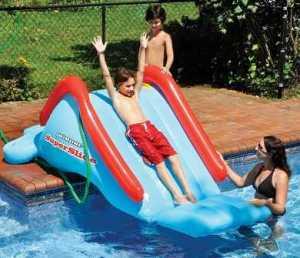 Super Slide-inflatable  Pool Water Slide by Swimline