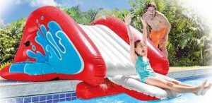 Intex Kool Splash Inflatable Water Slide Play Center