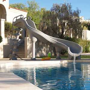 Adrenaline In Ground Swimming Pool Slide