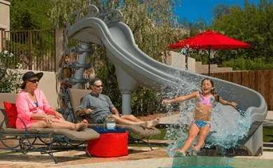 Adrenaline Swimming Pool Slide