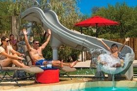 Adrenaline Pool Slide