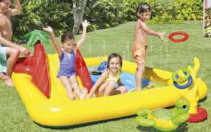 Intex-Ocean Inflatable Play Center