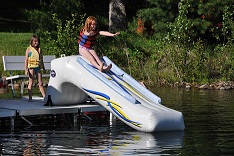 Inflatable Dock Slide