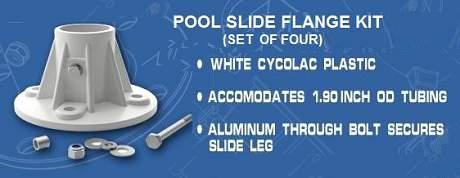 Deck Anchor Flange-Plastic
