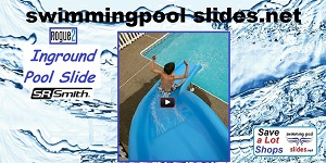 Going down the Rogue2 Pool Slide Video