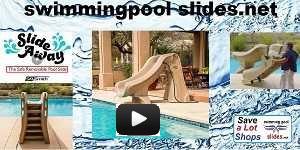 Slideaway Swimming Pool Slide Video