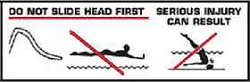 Swimming Pool Slide safety