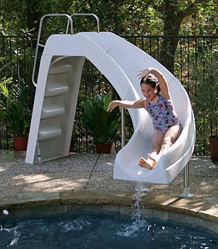 Aqua Blast Swimming Pool Slide