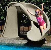 Cyclone Swimming Pool Slide