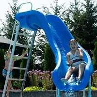 All Swimming Pool Slides - for Inground and Above Ground Pools