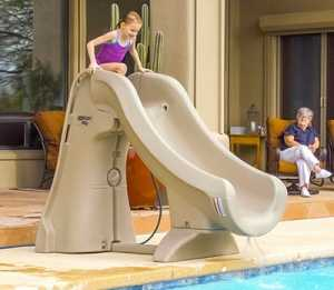 Slideaway Pool Slide