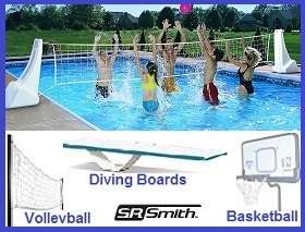 SR Smith Ladders, Diving Boards, and Games