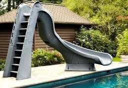 TURBO TWISTER Swimming Pool Slide
