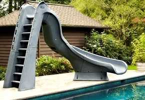 TURBO TWISTER Swimming Pool Slide