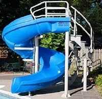 VORTEX Commercial Pool Slide
