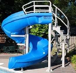 VORTEX Commercial Swimming Pool Slide  by SR Smith