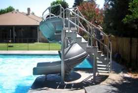 Vortex Commercial Swimming Pool Slide