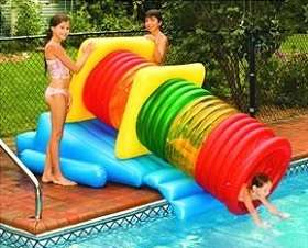 Waterpark Inflatable Pool Slide