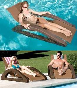SwimwaysTerra Sol Riviera Chaise Floating Lounger