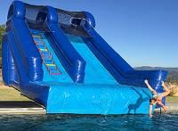 Big Guy Inflatable Pool Slide