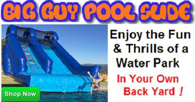 Big Guy Inflatable Swimming Pool slide