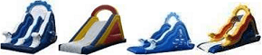 Commercial Quality Inflatable Swimming Pool Slides