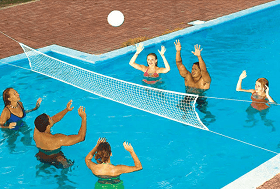 Water VolleyBall Nets, Balls, Equipment & Supplies