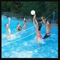 Swimming Pool Water Volleyball