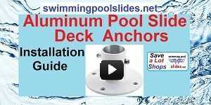 Pool Slide Deck Anchors Installation Guide