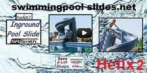 Video Helix2- Inground pool Water Slide